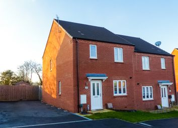 Thumbnail 3 bedroom semi-detached house for sale in Muscott Close, Flore