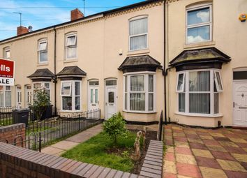 Thumbnail 2 bed terraced house to rent in Leonard Road, Lozells, Birmingham