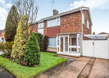 Thumbnail 3 bed semi-detached house for sale in Longwood Rise, Willenhall, West Midlands