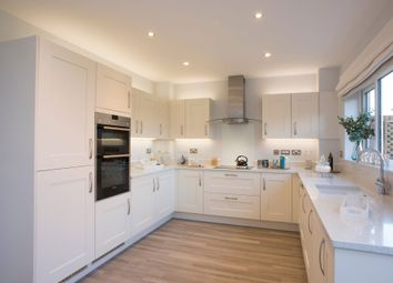 """Thumbnail 4 bed detached house for sale in """"The Hemsley"""" at Winchester Road, Boorley Green, Botley"""