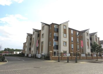 Thumbnail 2 bed flat for sale in Cranberry Court, Hampton Vale, Peterborough