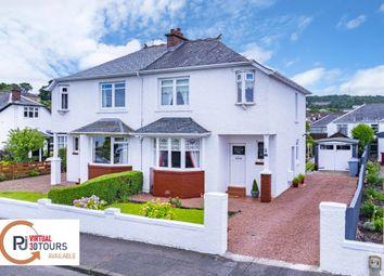 Thumbnail 2 bed semi-detached house for sale in 16 Stuart Avenue, Burnside, Glasgow