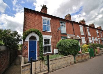 Thumbnail 3 bed end terrace house for sale in Norman Road, Norwich