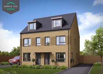 Thumbnail 3 bed semi-detached house to rent in Plot 63, Hawthorne, 232 Queen Mary Rd, Sheffield