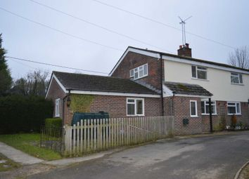 Thumbnail 3 bed semi-detached house to rent in Shalbourne, Marlborough