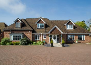 Thumbnail 4 bed detached house for sale in Wickham Road, Fareham