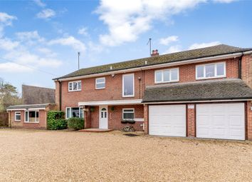Thumbnail 4 bed detached house for sale in Ashmore Green Road, Cold Ash, Thatcham, Berkshire