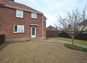Thumbnail 3 bedroom semi-detached house to rent in Bradfield Avenue, Hadleigh, Ipswich