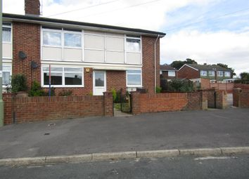 Thumbnail 2 bed flat for sale in Woodcot Crescent, Havant