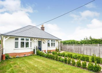 Thumbnail 2 bed detached bungalow for sale in Amesbury Road, Weyhill, Andover