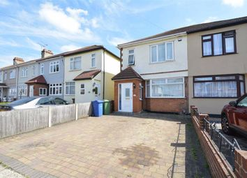 Thumbnail 3 bed semi-detached house to rent in Grange Road, Aveley Village, Essex