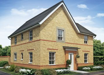 "Thumbnail 4 bed detached house for sale in ""Alderney"" at Tiber Road, North Hykeham, Lincoln"