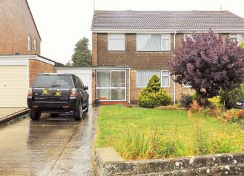 Thumbnail 3 bed semi-detached house for sale in Farrfield, Swindon