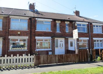 Thumbnail 3 bedroom terraced house to rent in Bristol Road, Hull