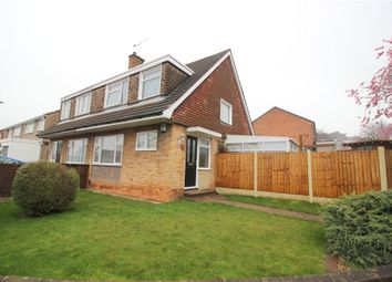 Thumbnail 3 bedroom semi-detached house for sale in Priestland Avenue, Spondon, Derby