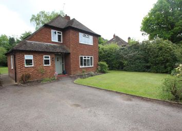 Thumbnail 4 bed detached house to rent in Hacketts Lane, Pyrford, Woking