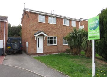 Thumbnail 2 bed semi-detached house for sale in Kingsdale Croft, Stretton, Burton-On-Trent
