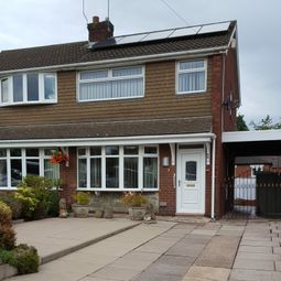 Thumbnail 3 bed semi-detached house to rent in New Hayes Road, Tunstall, Stoke On Trent