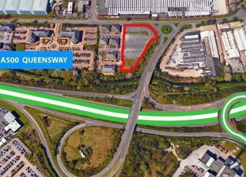 Thumbnail Land for sale in Land, Campbell Road, Stoke-On-Trent