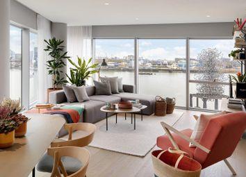 3 bed flat to rent in No.4, Upper Riverside, Cutter Lane, Greenwich Peninsula SE10