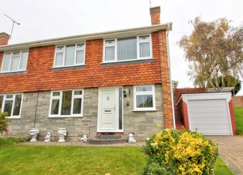 Thumbnail 3 bed semi-detached house for sale in Chesham Drive, Rainham, Gillingham