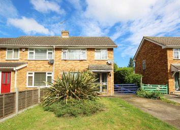 Thumbnail 3 bed semi-detached house for sale in Oakington Drive, Sunbury-On-Thames