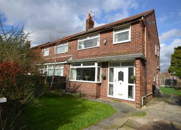 Thumbnail 3 bed semi-detached house for sale in Radnor Avenue, Denton, Manchester, Greater Manchester