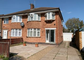 Thumbnail 3 bed semi-detached house to rent in Lynmouth Drive, Wigston