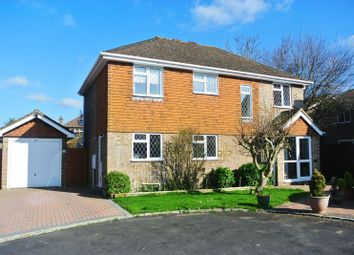 Thumbnail 4 bed detached house for sale in Woodside Gardens, Chineham, Basingstoke