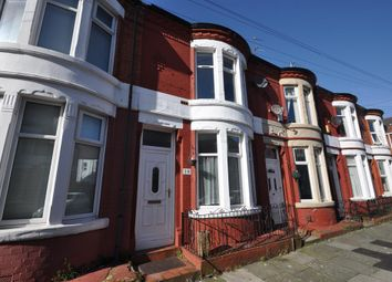Thumbnail 2 bedroom terraced house for sale in Northbrook Road, Wallasey