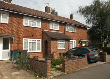 Thumbnail 3 bed terraced house to rent in Rushetts Road, Crawley