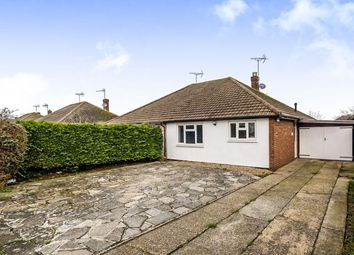 Thumbnail 2 bed bungalow for sale in Greenwood Avenue, Bognor Regis