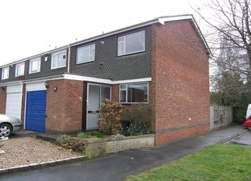 Thumbnail 3 bed property to rent in Arden Close, Balsall Common, Coventry