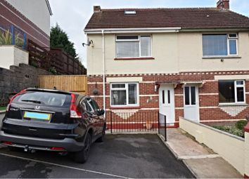 Thumbnail 3 bed semi-detached house for sale in Jubilee Road, Newton Abbot