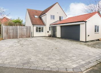 Thumbnail 4 bed detached house for sale in Campbell Close, Buntingford