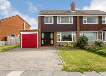 Thumbnail 3 bed semi-detached house for sale in Ladywell Way, Ponteland, Newcastle Upon Tyne, Northumberland