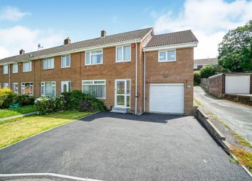 Thumbnail 3 bed end terrace house for sale in Canhaye Close, Plympton, Plymouth
