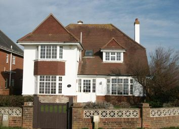 Thumbnail 4 bed detached house to rent in Marine Drive East, Barton On Sea, New Milton