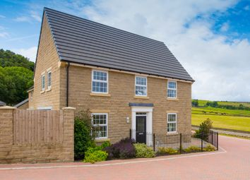 "Thumbnail 4 bed detached house for sale in ""Cornell"" at Manywells Crescent, Cullingworth, Bradford"