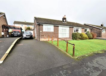 Thumbnail 2 bed semi-detached bungalow for sale in Stoneyland Drive, New Mills, High Peak