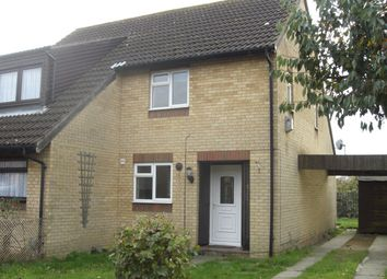 Thumbnail 2 bed semi-detached house to rent in Thorpe Way, Cambridge