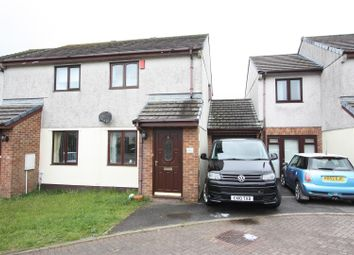 Thumbnail 2 bed semi-detached house for sale in Penhale Gardens, Fraddon, St. Columb