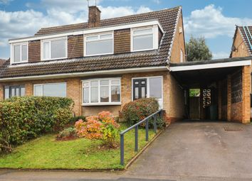 Thumbnail 3 bed semi-detached house to rent in Hollins Spring Avenue, Dronfield