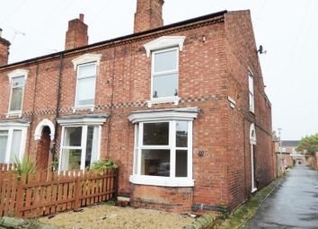 Thumbnail 3 bed end terrace house to rent in Queen Street, Retford