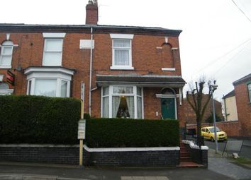 Thumbnail 2 bed end terrace house for sale in Broad Street, Crewe, Cheshire