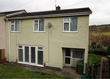 Thumbnail 3 bed end terrace house for sale in Buarth Y Capel, Ynysbwl, Pontypridd