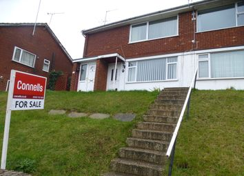 Thumbnail 2 bed flat for sale in Porlock Drive, Luton