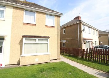 Thumbnail 3 bed semi-detached house to rent in Maesglas Road, Newport