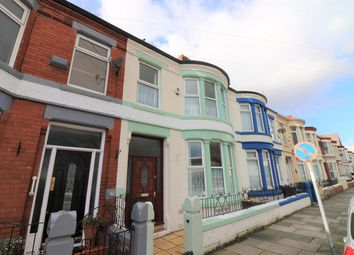 Thumbnail 5 bed terraced house for sale in Mainwaring Road, Wallasey