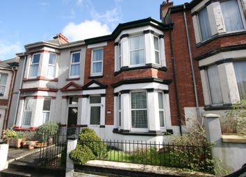 Thumbnail 1 bed terraced house to rent in Lipson Road, Lipson, Plymouth
